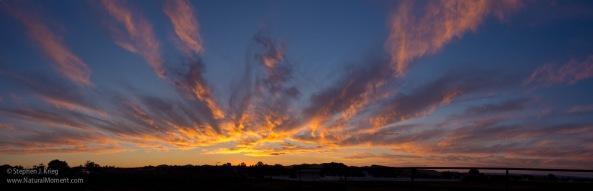 Arizona sunset panorama