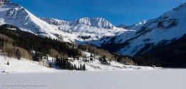 Trout Lake, Colorado in Winter